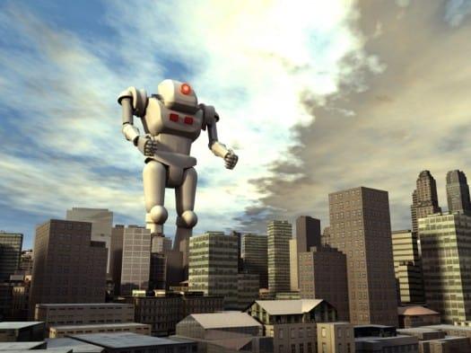 GiantRobotOnCity