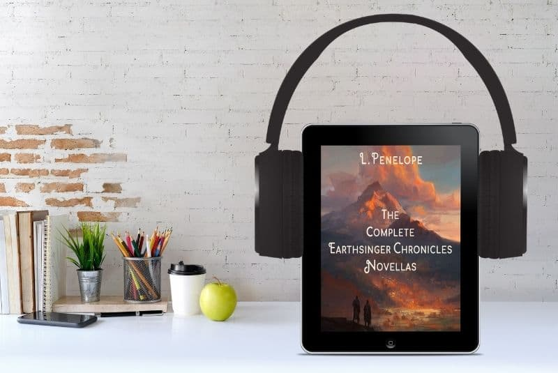 Earthsinger Chronicles novellas now available from Audible