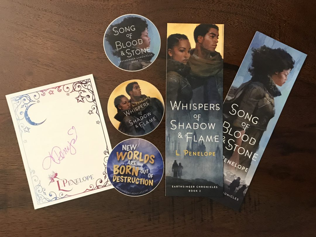 Whispers of Shadow & Flame Preorder Swag!