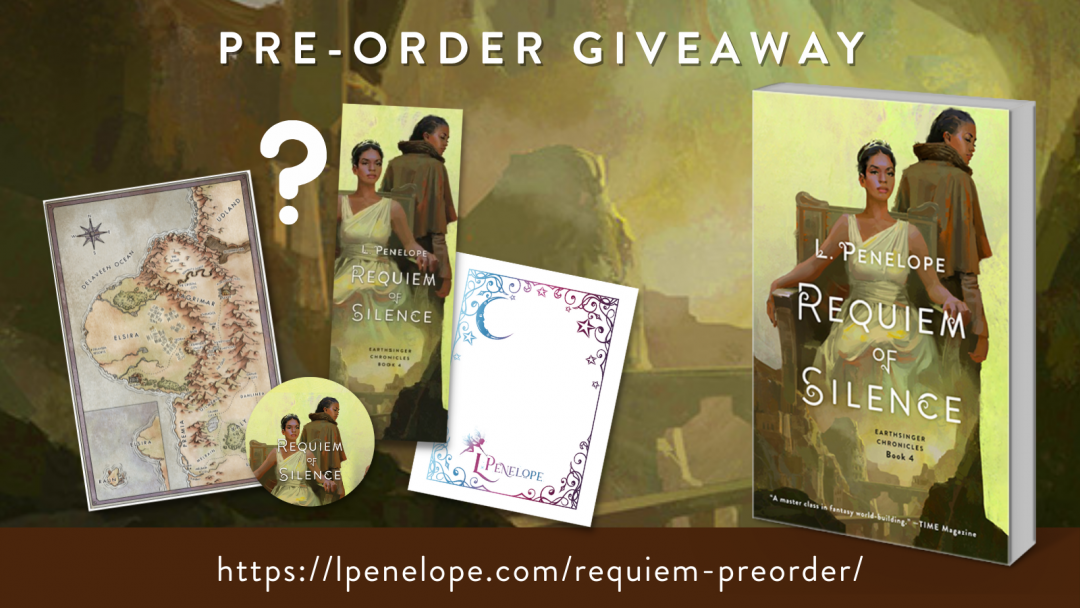 REQUIEM OF SILENCE pre-order giveaway!