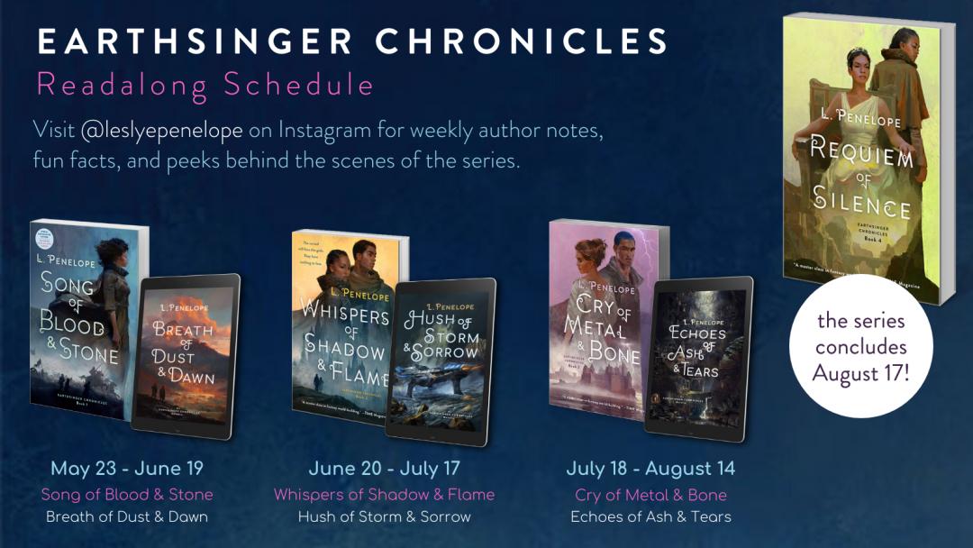 Join the Earthsinger Chronicles Readalong!