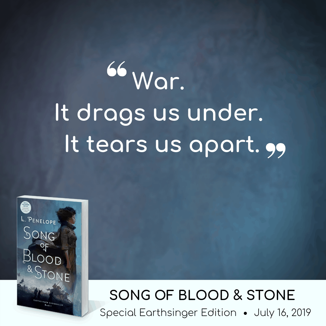 Song of Blood & Stone quote